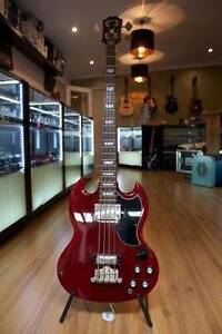 EPIPHONE SG EB-3 4 STRING BASS Moorooka Brisbane South West Preview