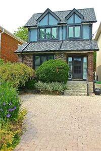 Feel Good Lovely Renovated Family Home / 3 + Den / Lawrence Park