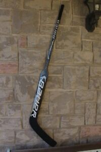 Hockey goal Stick Goalie paddle shoot left Hand catch Right Baue