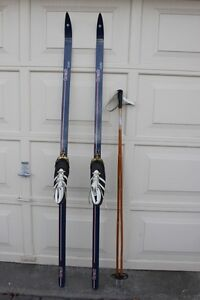 Trak Waxless Cross country 200 cm Skis boots poles bindings Ski