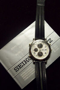 Seiko World time Chronograph with Date Kitchener / Waterloo Kitchener Area image 2