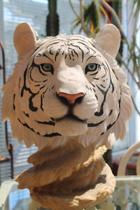 Statue de Tigre blanc collection ( Edition Limité )