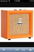 Mini 9-volt orange amp