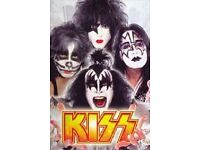 X2 KISS standing tickets Glasgow Hydro Sat 27th May 7.30 pm start as part of the KISSWORLD Tour