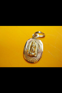 médaillon vierge marie/guadalupe 14K OR/GOLD