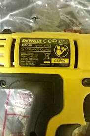 DeWalt DC740 like new, great D.I.Y / Xmas gift