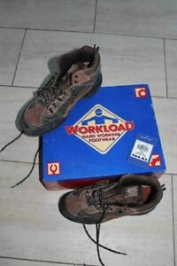 Construction Boots - Steel Toe & Sole - Size 10 - CSA certified