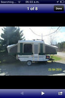 2005 StarCraft 8 Tent Trailer with Add A Room