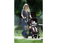 STUNNING BUGABOO FROG 2 in 1 (pram and stroller) with carrycot and extra extras. Delivery