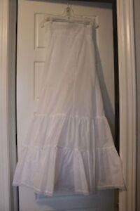 Underskirt from my wedding dress
