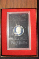 EISENHOWER AMERICAN SILVER DOLLAR PROOF