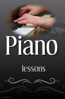 Piano Lessons in the Huron Park, Doon, Pioneer Park area