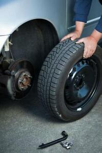 Kitchener/Waterloo area Mobile Summer/Winter Tire swap, rotation or installation $80