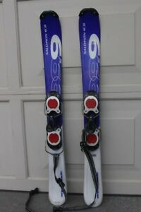Snowblades 99 cm skis Salomon freeglide parabolic made in France