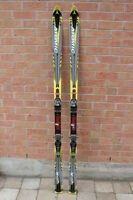 Atomic Carv X 190 cm long shaped downhill skis made in Austria w