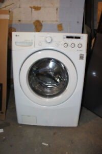 LG FRONT LOAD WASHER six months old