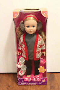 Brand new my life doll (18 inches tall)