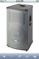 mackie powered speakers