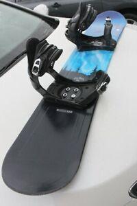 Snowboard Lamar LTD Peak 148 cm full woood core, designed in Can