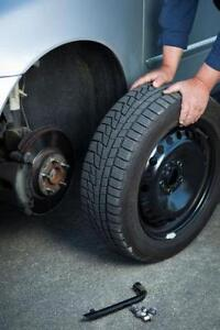 Vaughan, Richmond Hill area Mobile Summer/Winter Tire swap, rotation or installation $15 per tire