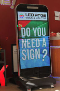 All Types of Programmable sign from your local sign company