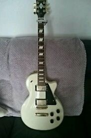 Gibson les Paul custom style guitar