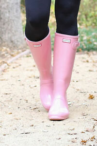 NEW !  GENUINE HUNTER RAINBOOTS- FALL STREET STYLE ! Edmonton Edmonton Area image 5