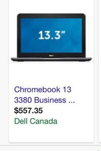 Chromebook 13.3 3380 Business new on the box