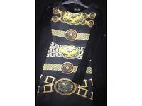 Chain printed dress 10-12