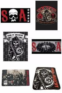 SOA Sons Of Anarchy Various Sherpa Blanket Towel Floor Matt Offi