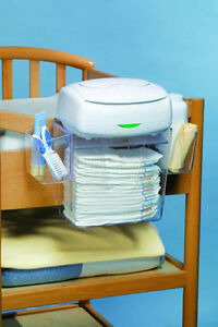 $10 Prince Lionheart Baby Diaper Depot Organizer Changing Clear