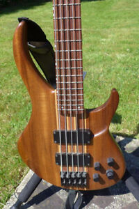 PEAVEY 5 STRING NECK THROUGH BASS. MINT ( PRICE LOWERED )