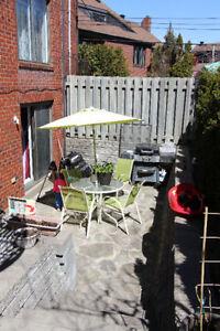 4½ sur PLACE BEAUBIEN, avec terrasse, tout inclus