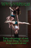 POLE FITNESS CLASSES-Downtown Kingston