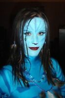 Halloween make up face painting special effects