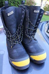 Dakota Firefighter composite toe men's SA safety boots size US 1