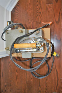 Used Industrial/Commercial Steam Iron And Boiler Unit For Sale