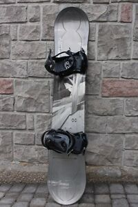 LTD Fury Snowboard size 154 cm with large bindings ETF Energy Tr