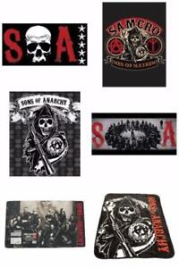 SOA Sons Of Anarchy Various Sherpa Blanket Towel Floor Matt Offi