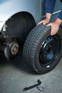 on-call Summer/Winter tire swap/installation $20 each tire