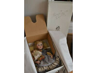 Christiane Bernaert Collection Les Poupees Carine 'Fancoise' Porcelain Doll