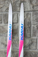 Karhu Cross country 195 cm skis ski set Karhu skis boots poles b