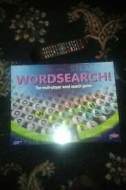 Multi player word search game