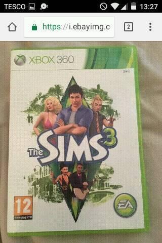 Sims 3 Xbox 360