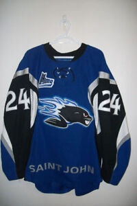 QMJHL Saint John Sea Dogs Game Worn Jersey