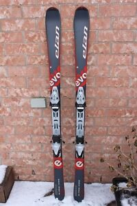 Elan SynFlex skis men's size 160 cm long 110 68 95 mm wide with