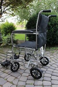Invacare Transport folding Wheelchair 15 ½ inch chair for senior