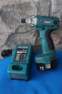 14.4V cordless impact Driver Makita 6932FD 0-2400 RPM hammer 0-3