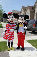 Invite Mickey or Minnie Mouse to your child's Birthday Party!