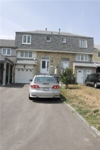 Gorgeous 3 Bedroom Freehold Town House With Finished Basement!
